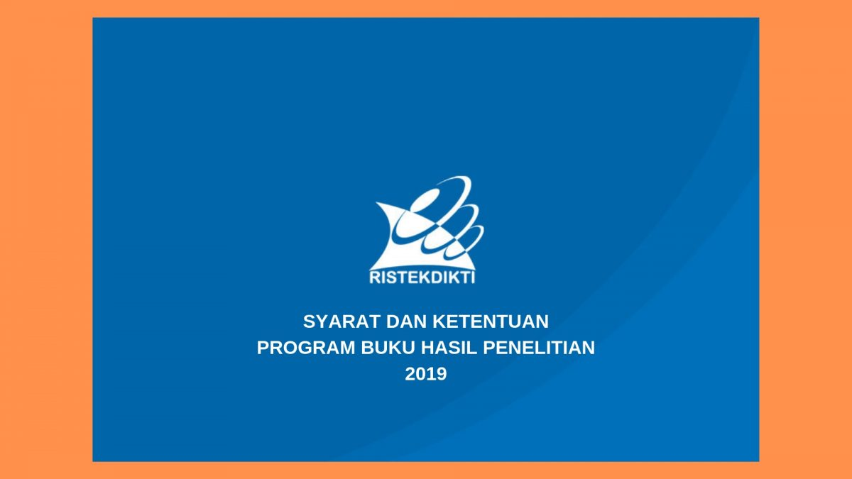 Program Buku Hasil Penelitian 2019 Penerbit Deepublish