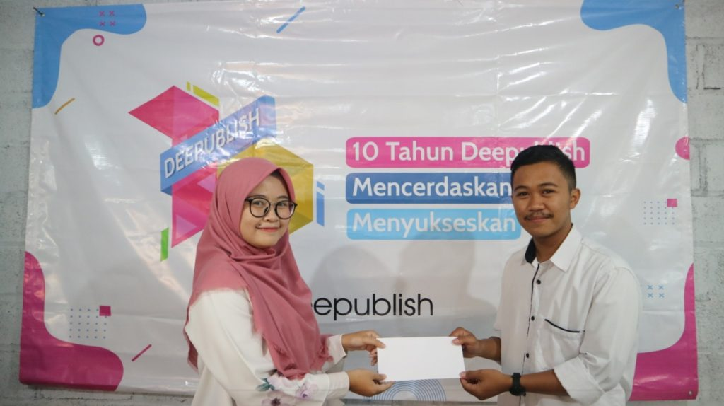 pemenang lomba deepublish