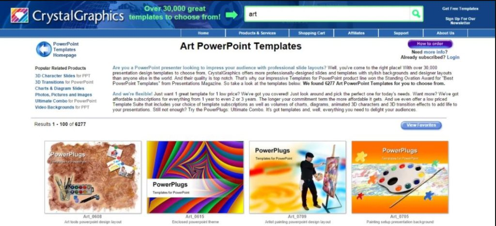 powerpoint crystalgraphic